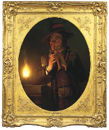 The young flageolet player