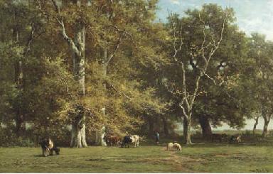 Intérieur de forêt (souvenir d