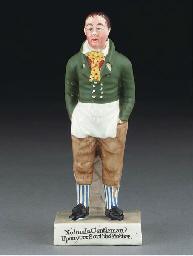 An English pearlware figure of