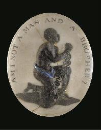 A Turner's oval stoneware anti