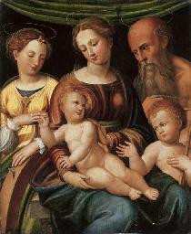The Mystic Marriage of Saint C