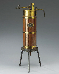 A late 19th-Century wood-lagge