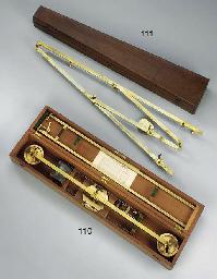 A 19th-Century brass pantograp