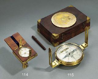 A 19th-Century mahogany-cased