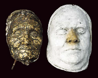 Two 19th-Century [?] death mas