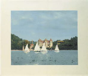 Castle with Sailboats