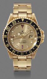 Rolex. An 18K gold, diamond an