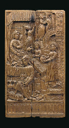 A NETHERLANDISH RELIEF-CARVED