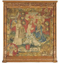 A GERMAN BIBLICAL TAPESTRY
