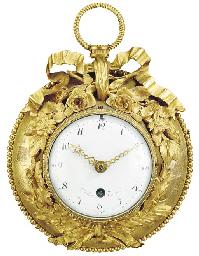 A LOUIS XVI ORMOLU CLOCK