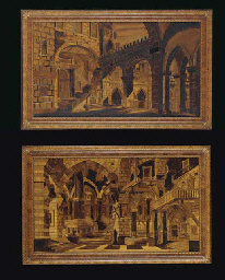 A PAIR OF NORTH ITALIAN PICTOR