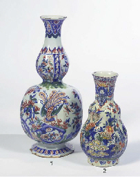 A Dutch Delft polychrome ribbe