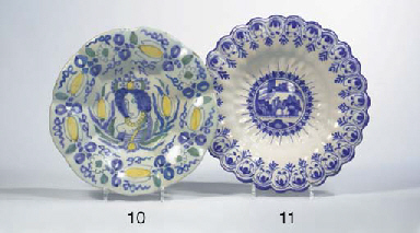 A Dutch Delft lobed William an