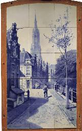 A Dutch Delft Porceleyne Fles