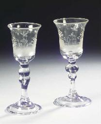A set of two Dutch-engraved Li