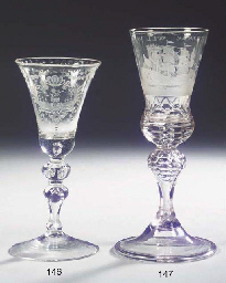 A Dutch-engraved faceted marit