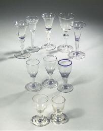 A collection of ten various go