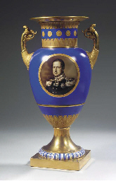 A Berlin KPM porcelain royal t