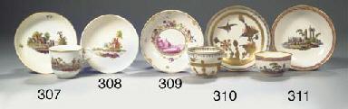 A Loosdrecht Amstel porcelain