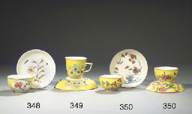 A pair of Meissen porcelain Ka