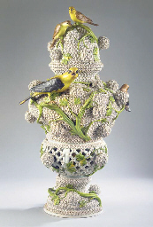 A very large Meissen porcelain