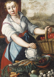 A vegetable seller