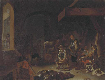 Figures in a forge