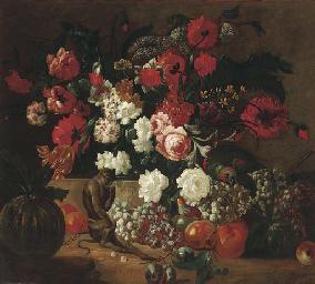 Poppies, carnations, roses, tu