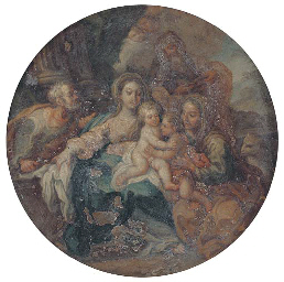 The Holy Family with Saints El