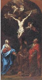 The Crucifixion; a modello for