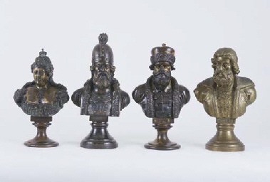 A COLLECTION OF FOUR RUSSIAN B