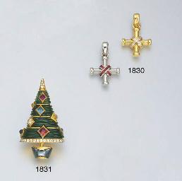 A MULTI-GEM AND DIAMOND CHRIST
