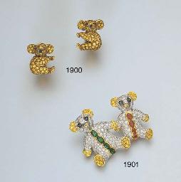 A DIAMOND, YELLOW DIAMOND AND