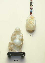 A NEPHRITE CARVING