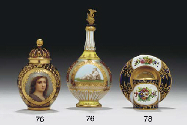 A COALPORT 'JEWELLED' GOLD AND