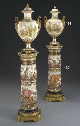 A PAIR OF ORMOLU-MOUNTED CAPOD