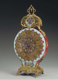 A French Persian-style ormolu-
