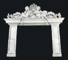 A Neoclassic style white-paint