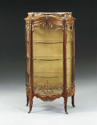 A fine Louis XV style ormolu-m
