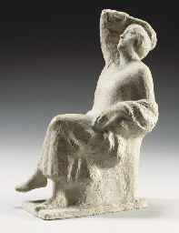 Seated lady (Henriëtte Polak)