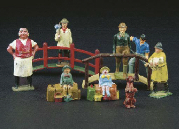Britains and other makes farm
