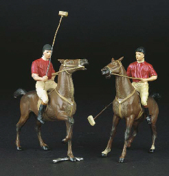 Two large 90mm. scale Polo Pla