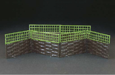 Britains Garden Fence Sections