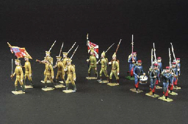Mignot World War I Infantry an