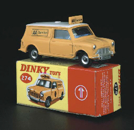 Dinky, mid to late 1960s