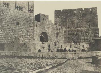Jérusalem, Tour de David, 1854