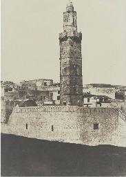 Jérusalem: Minaret de la Rue d