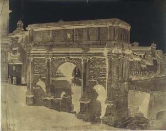 Arch of Septimius Severus, 184