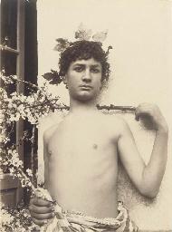 Sicilian youth, 1900