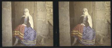 Woman in Arab dress, c.1920s